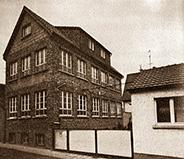 Altes Haus der Kunststoffverarbeitung Winter in Hainstadt