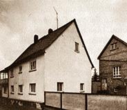 Altes Gebäude der Kunststoffverarbeitung Winter in Hainstadt