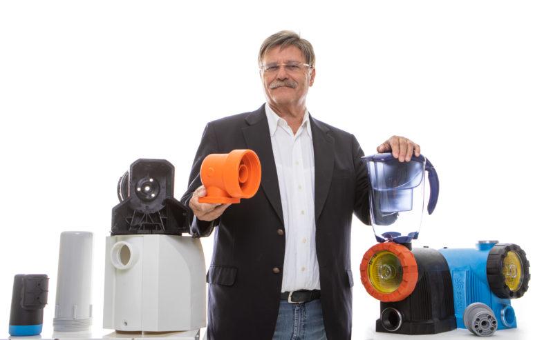 Helmut Winter steht hinter seiner Produktpalette