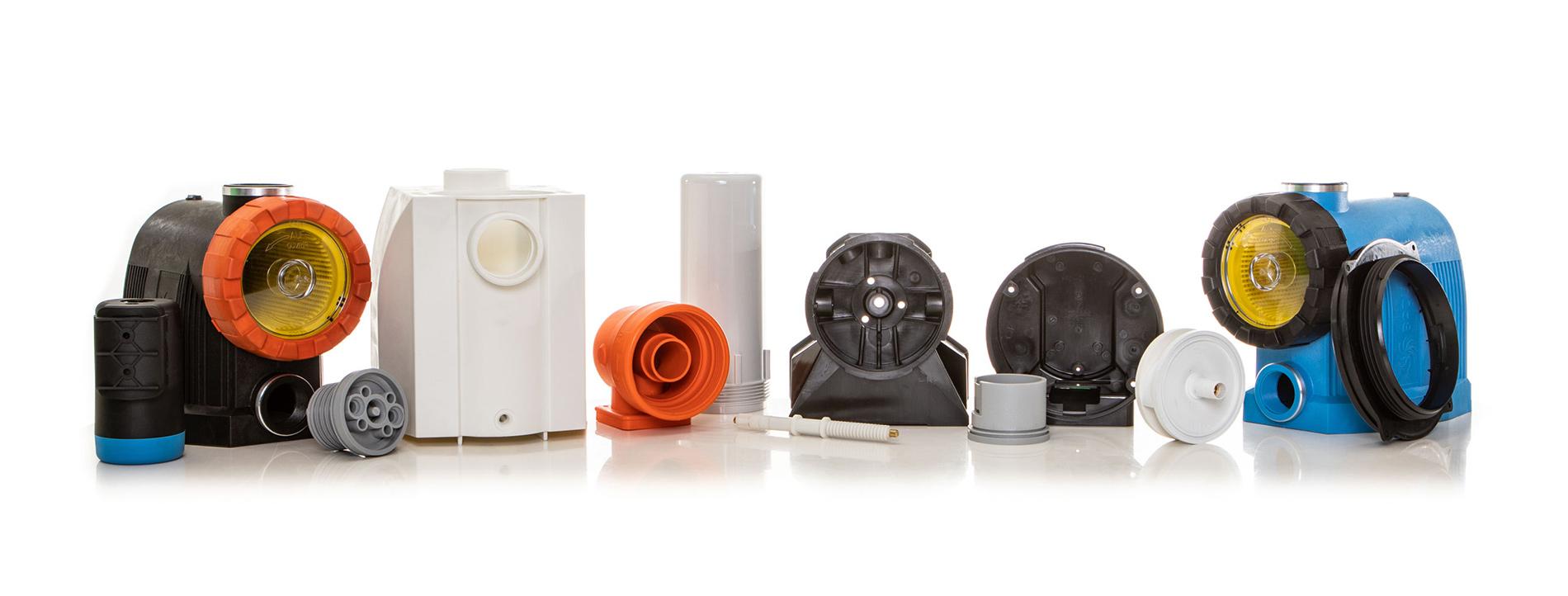 Kunststoffverarbeitung Winter Kunststoff-Einzelteile für Pumpentechnik Filtertechnik
